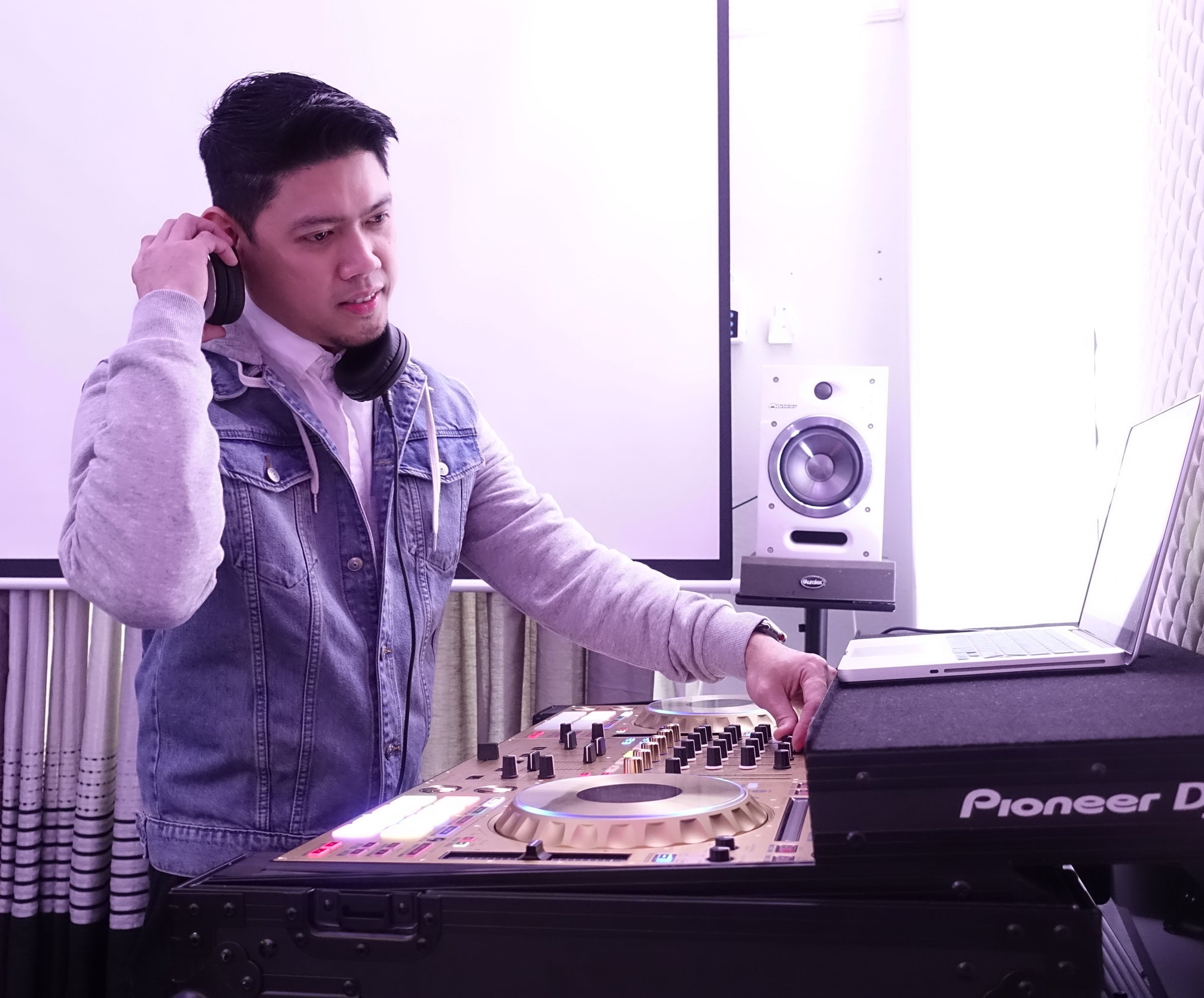 DJ Dennis Mallari - Our Throwback DJ. He specializes in TOP 40's, 90's and mainly throwback.