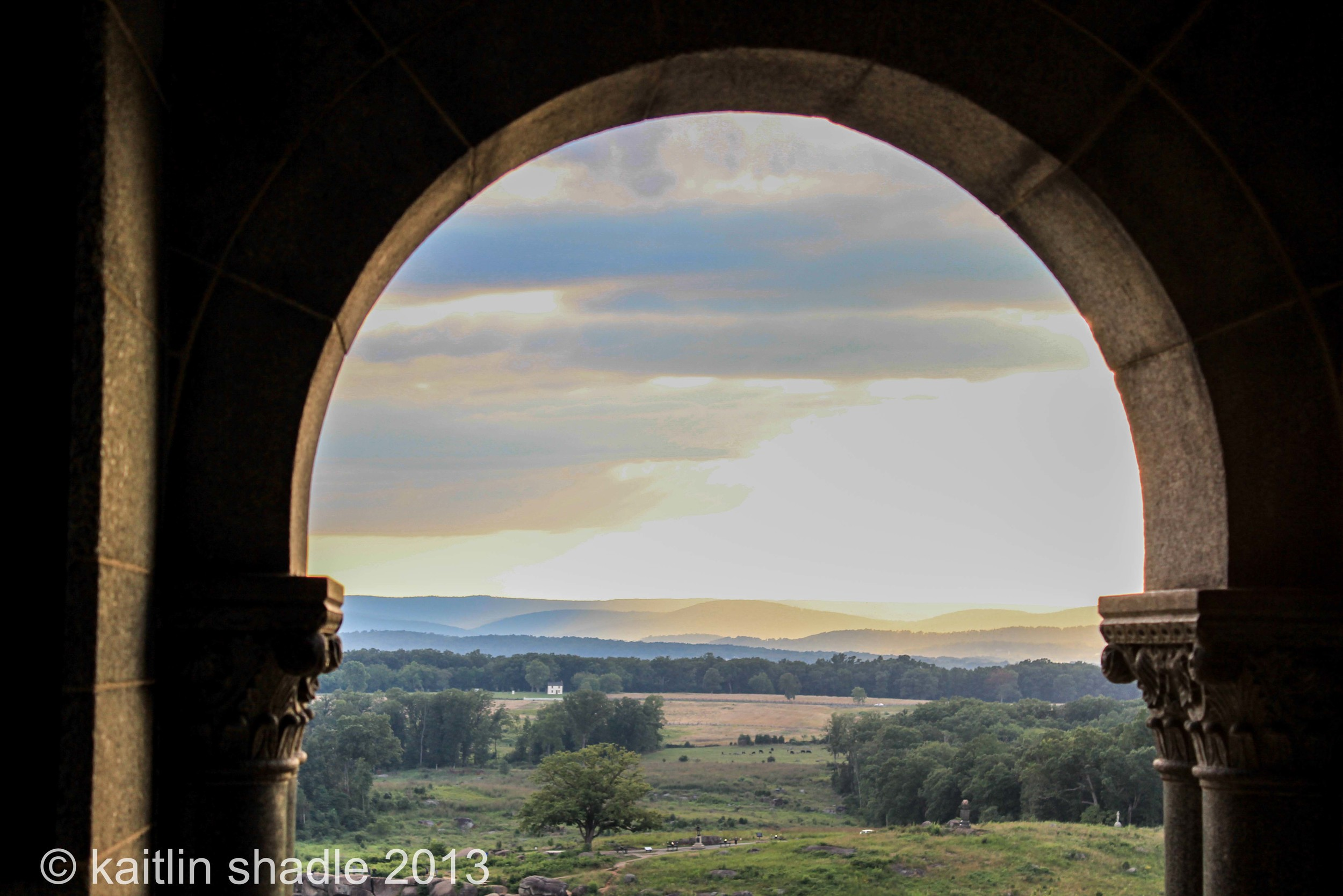 Archway at Little Round Top