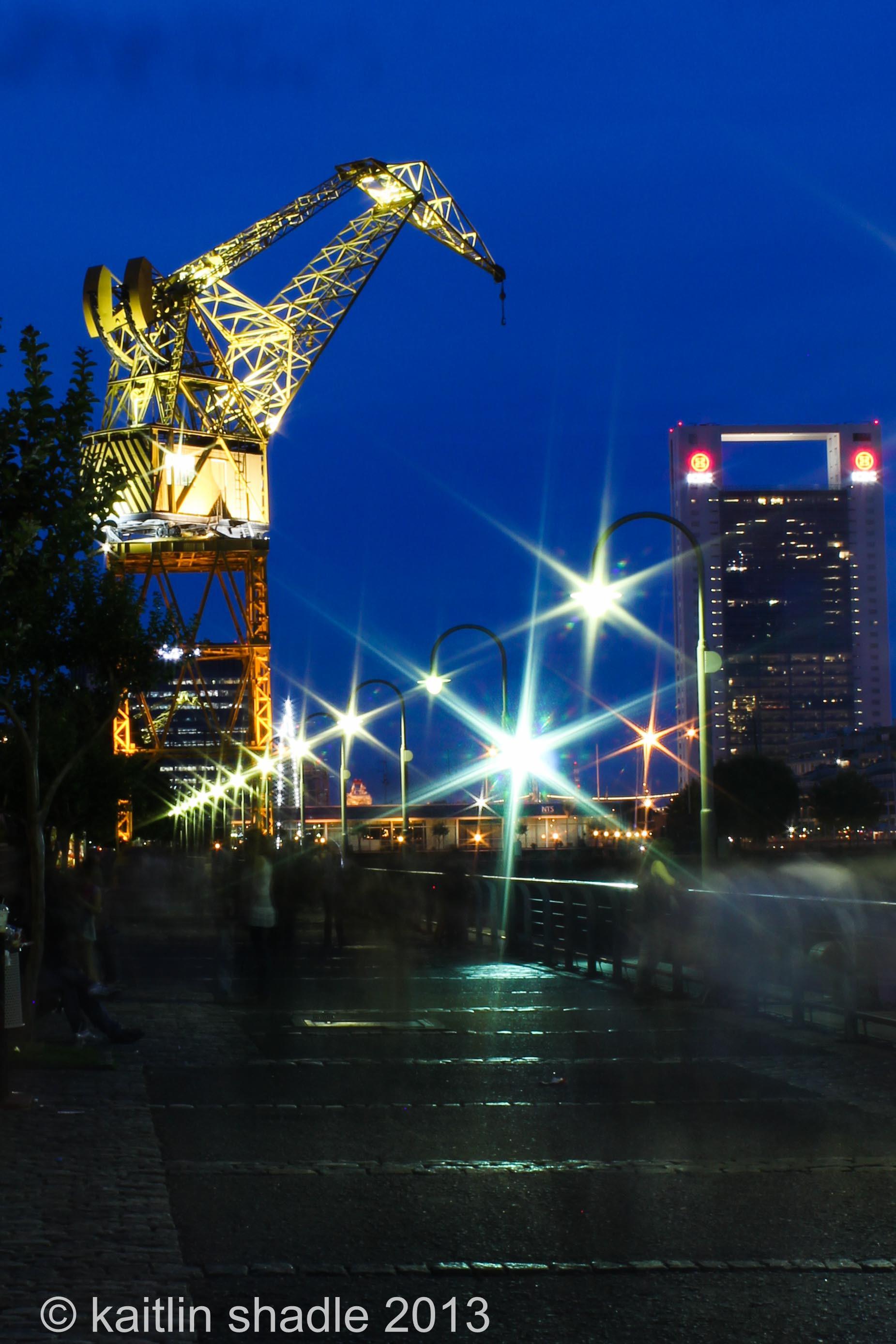 Sparkling Streetlights