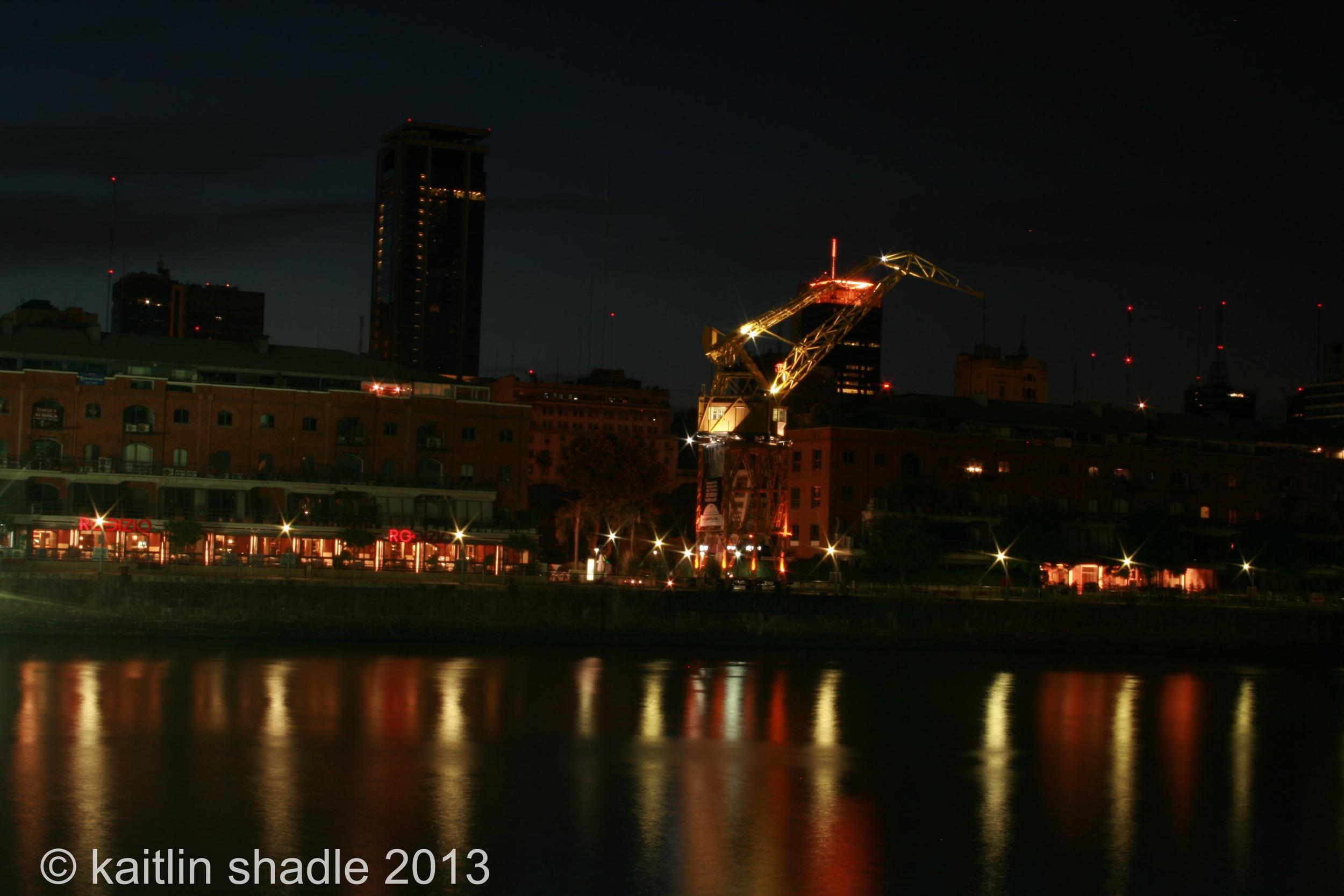Crane and Lights 2011
