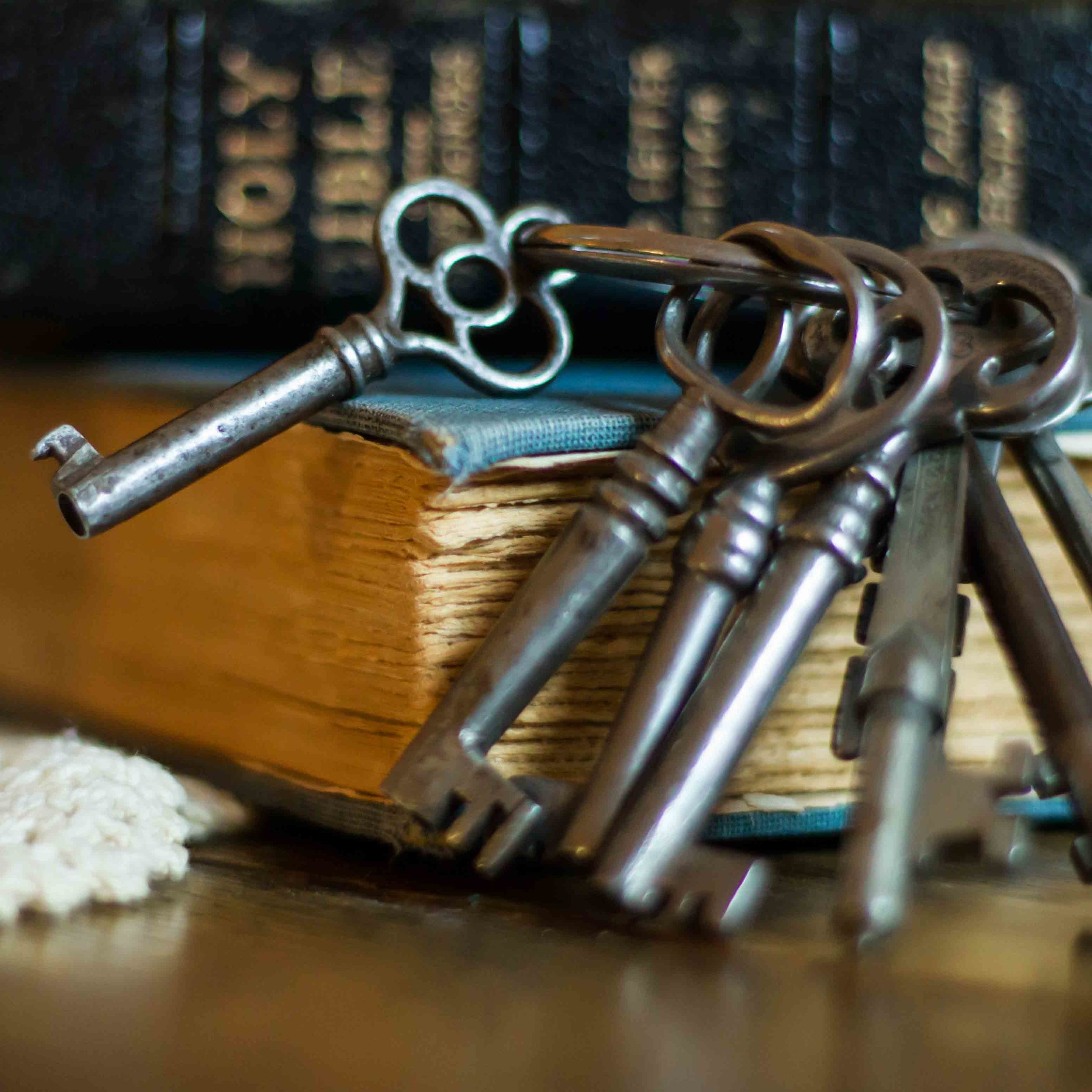Bible and Keys
