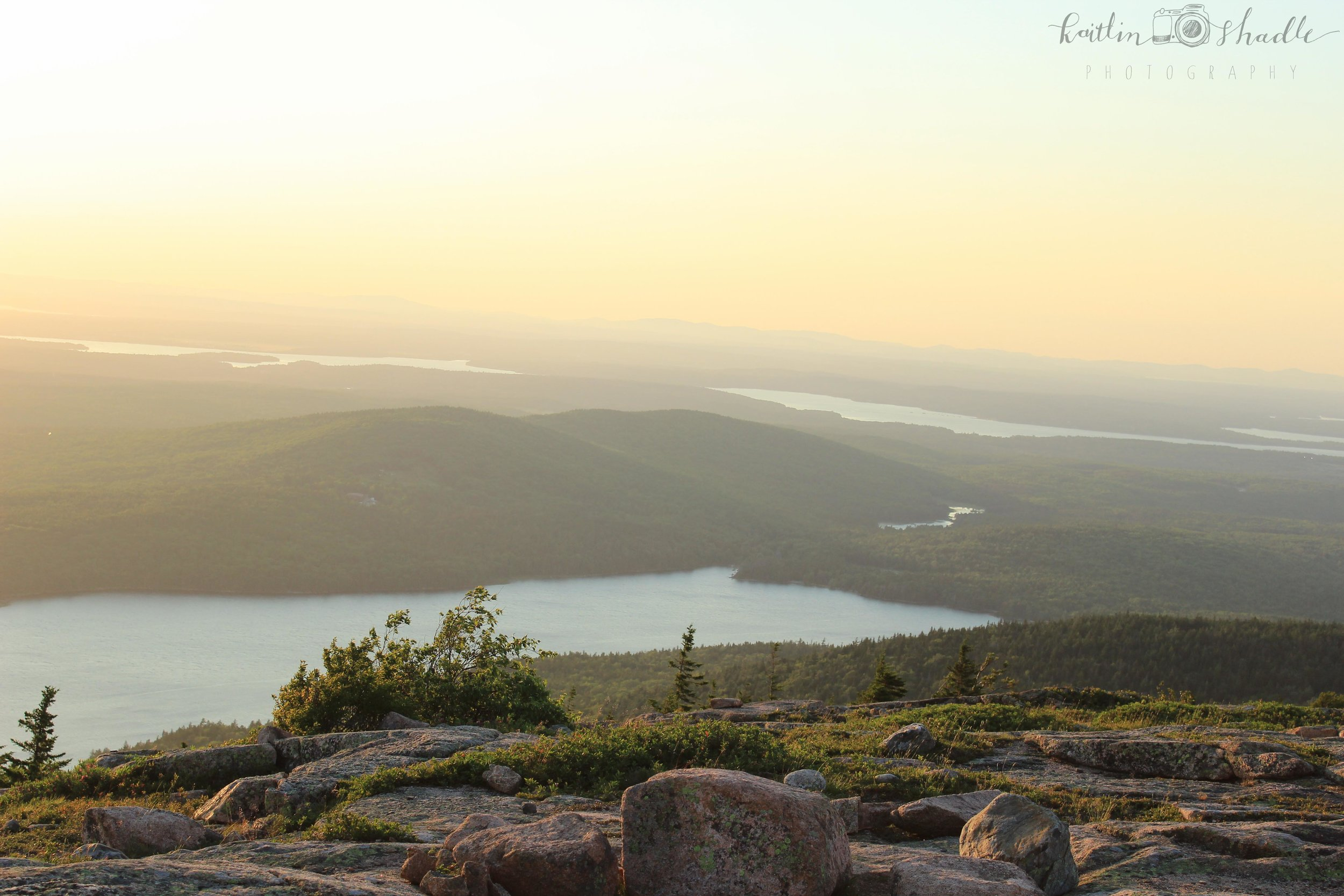 Cadillac Mountain at Dusk
