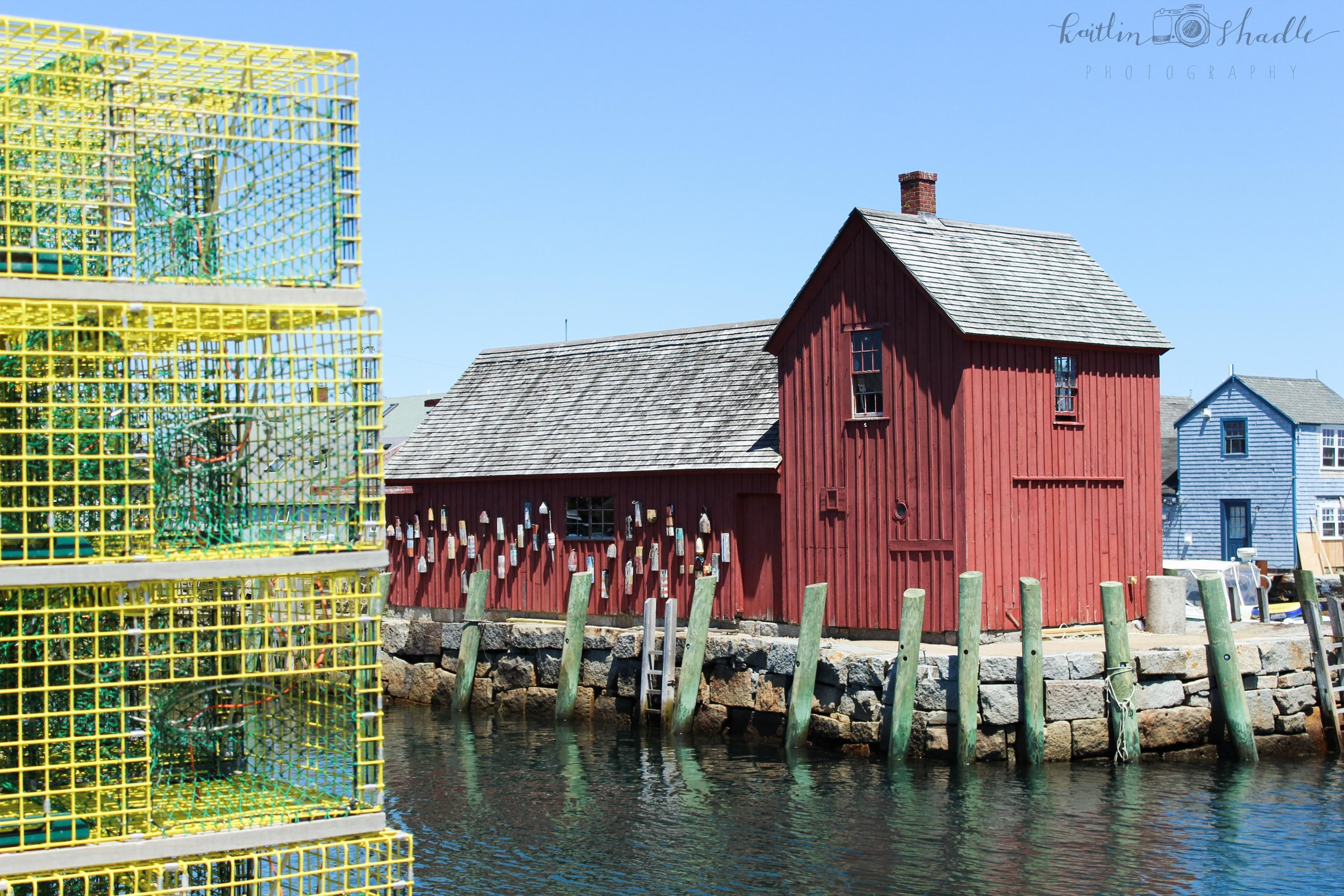 Lobster Traps at Motif No. 1