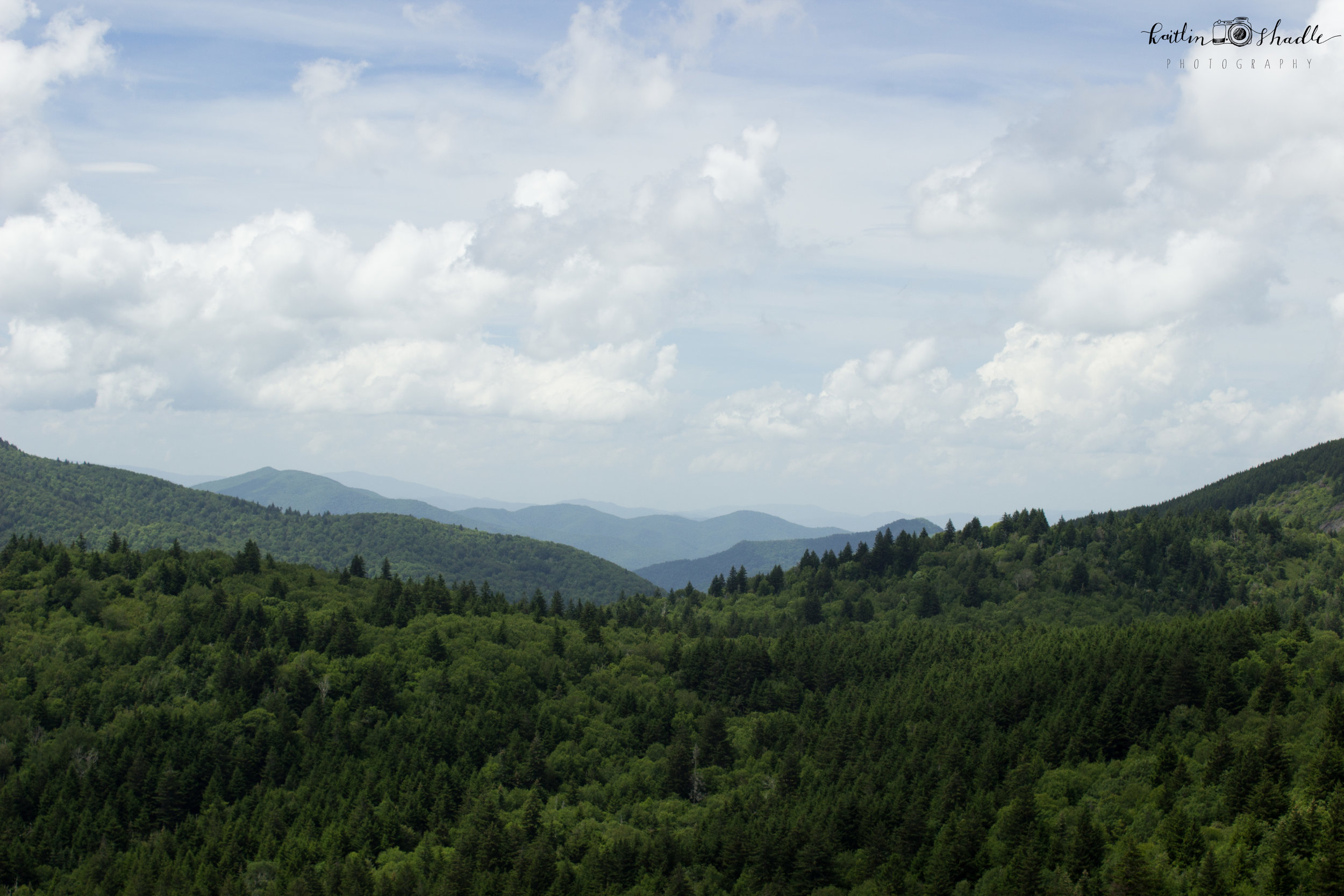 From the Devil's Courthouse Pinnacle