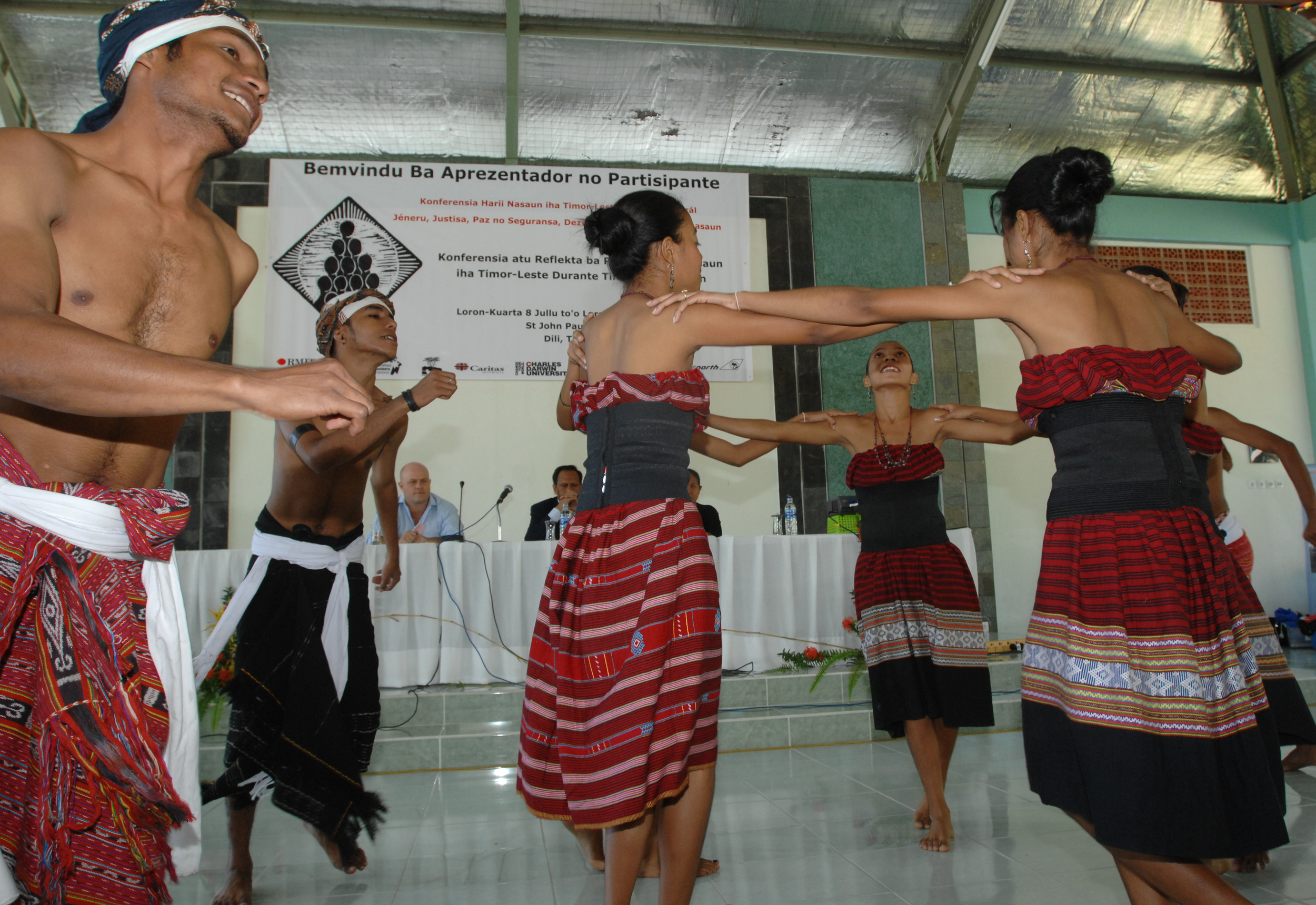 Opening of the 'Nation-building across the Urban and the Rural' Conference, Dili, 2009.
