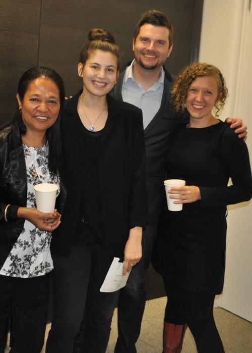 MBM members with Luisa Marcal
