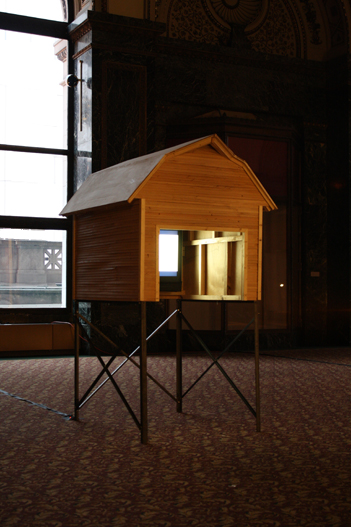 From the Fat Off Our Bones, 2009, video installation view