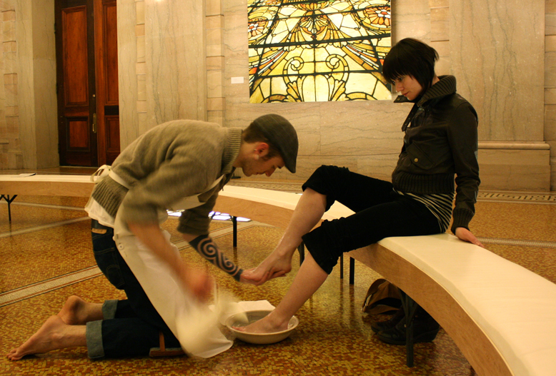 From the Fat Off Our Bones, 2009, performance installation still