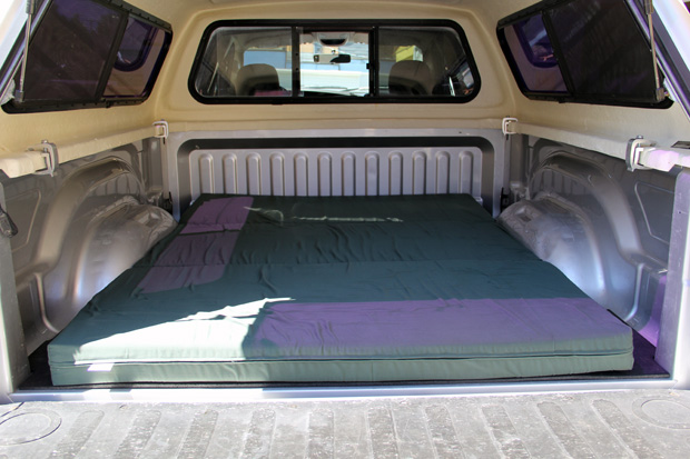 Sleeping in a truck?!
