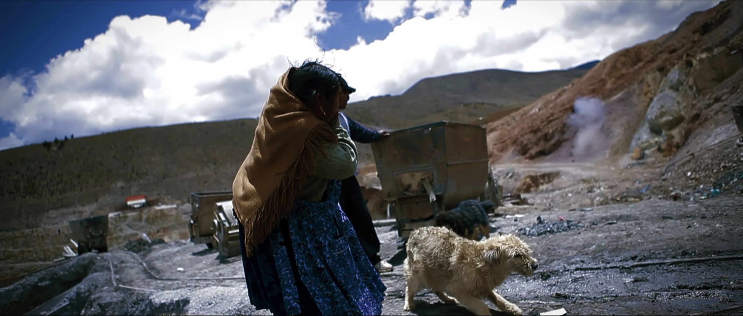 Cerro Rico in Potosí (Bolivia) is a lawless territory characterized by brutal violence. The miners risk their lives every day digging for silver and zinc in crumbling galleries. The ones that survive think they're entitled to anything and everything. And that's when they go on thehunt… for women.   Minerita  is the story of three women—Lucía (40), Ivone (16) and Abigail (17)—who work as night watch women in the mines, struggling to survive in an inhuman inferno. Their only weapon is their courage… and dynamite.  Running time: 27 minutes