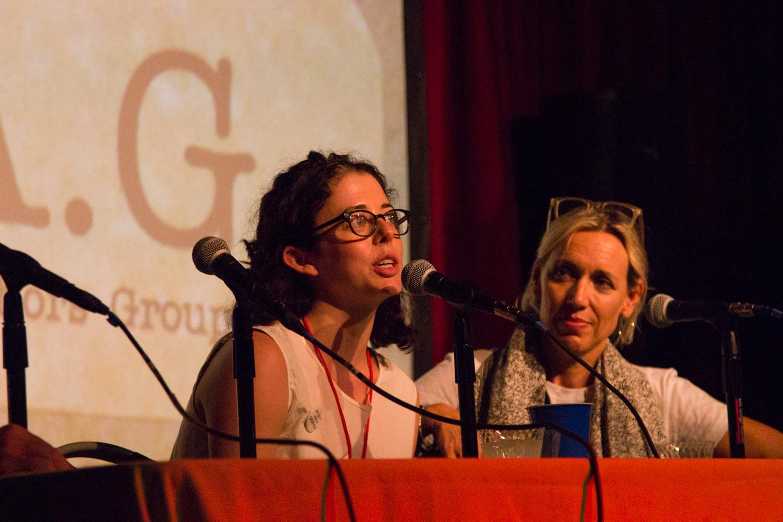 Mary Neely and Sara Baur Harding  Photo : Deja Cross