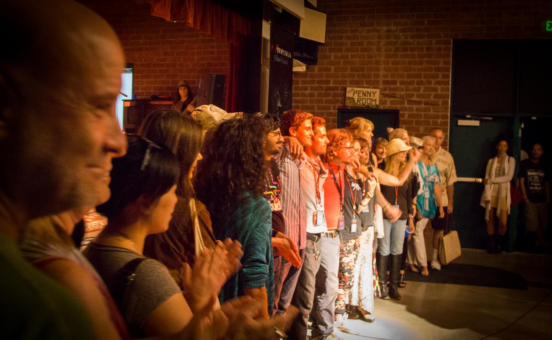 Festival volunteers  Photo: Jack Murphy