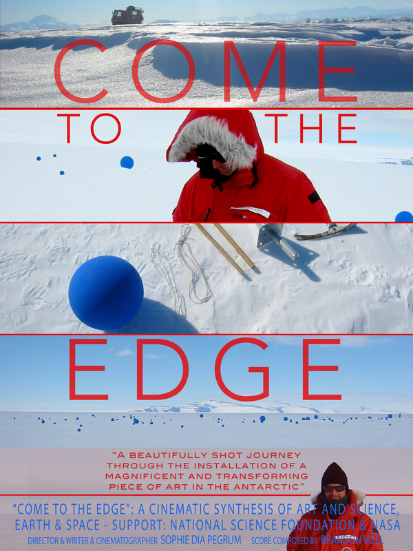 """COME TO THE EDGE   by Sophie Pegrum  