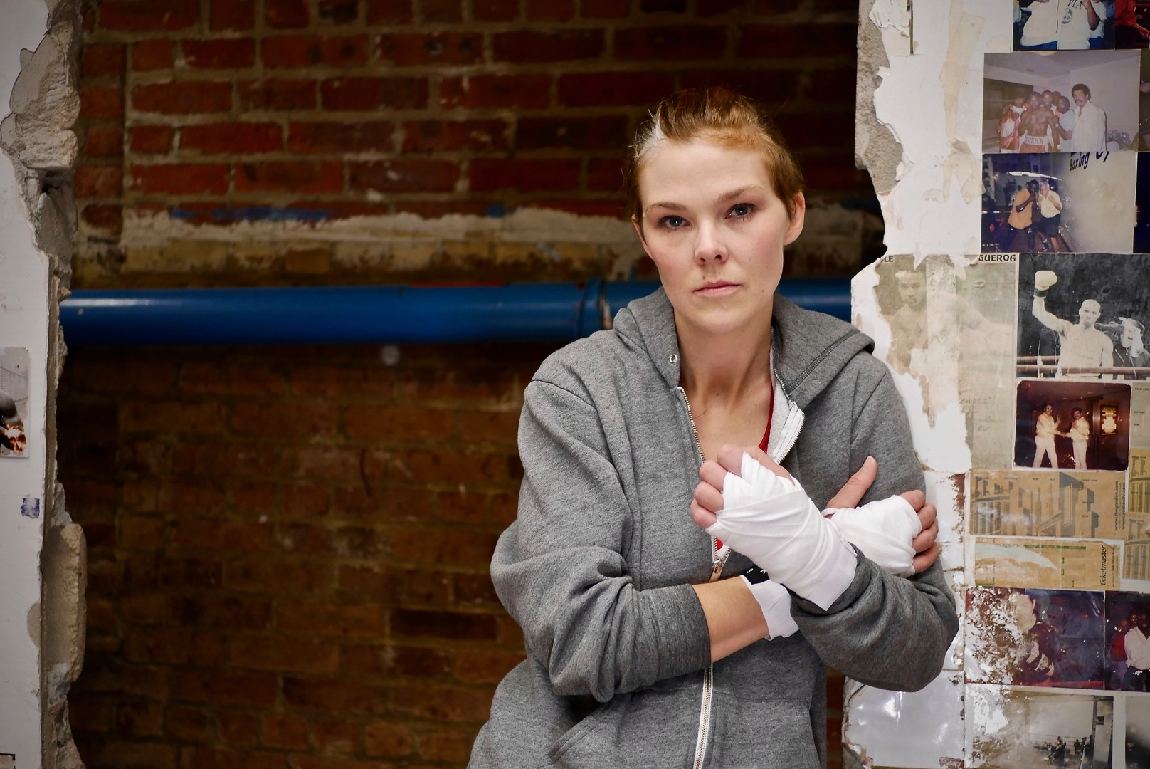 GIRL BOXER   by Lauren McCann  | 00:37 | A hard-up-single-mother and former boxer, is lured by the Irish mob into an underground boxing match where questions of right and wrong are challenged when the love of family is concerned.