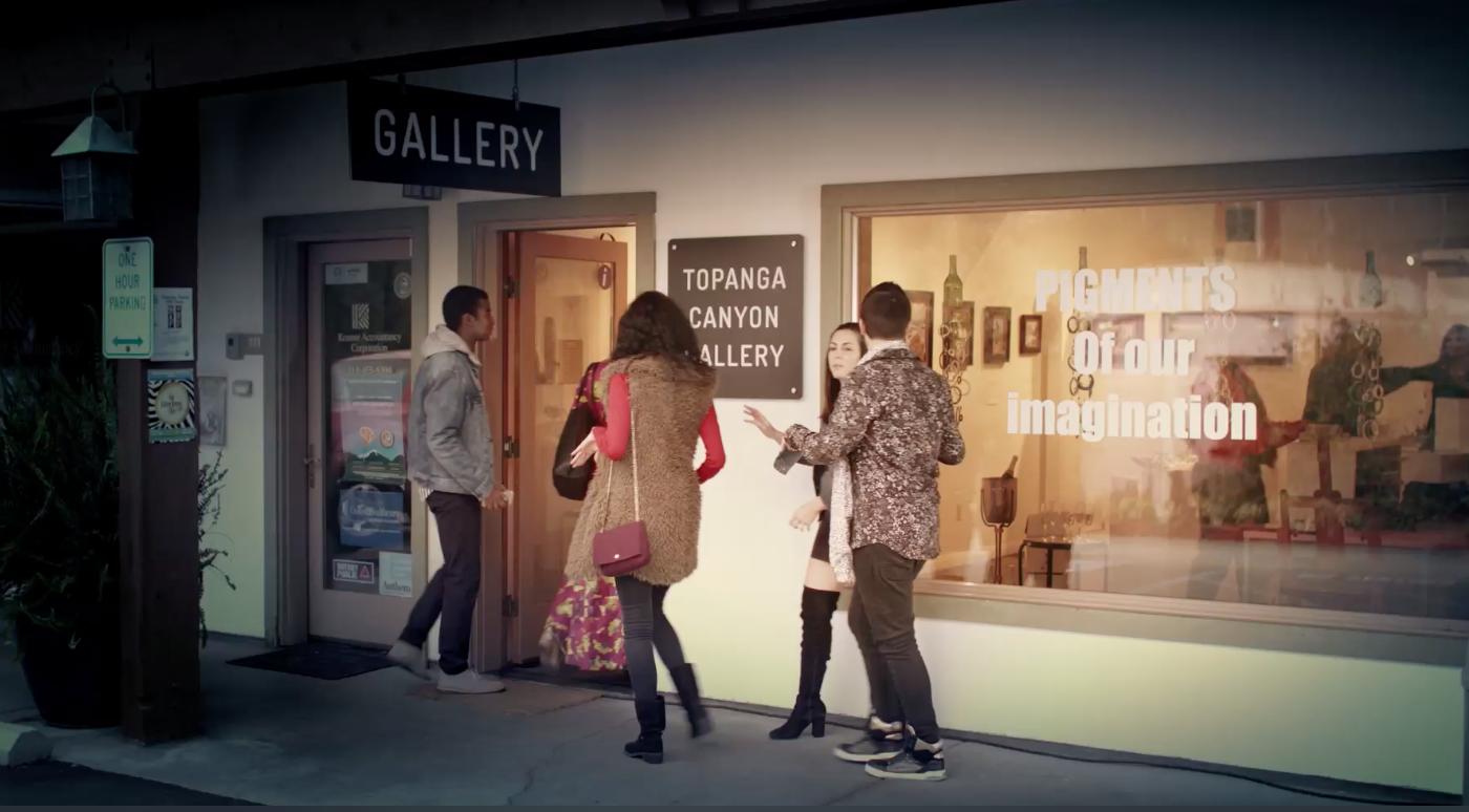 INFINITE POSSIBILITIES; set at Topanga Canyon Gallery