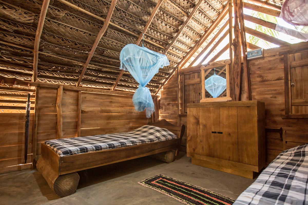"Wooden Cabana interior ""Standard"""