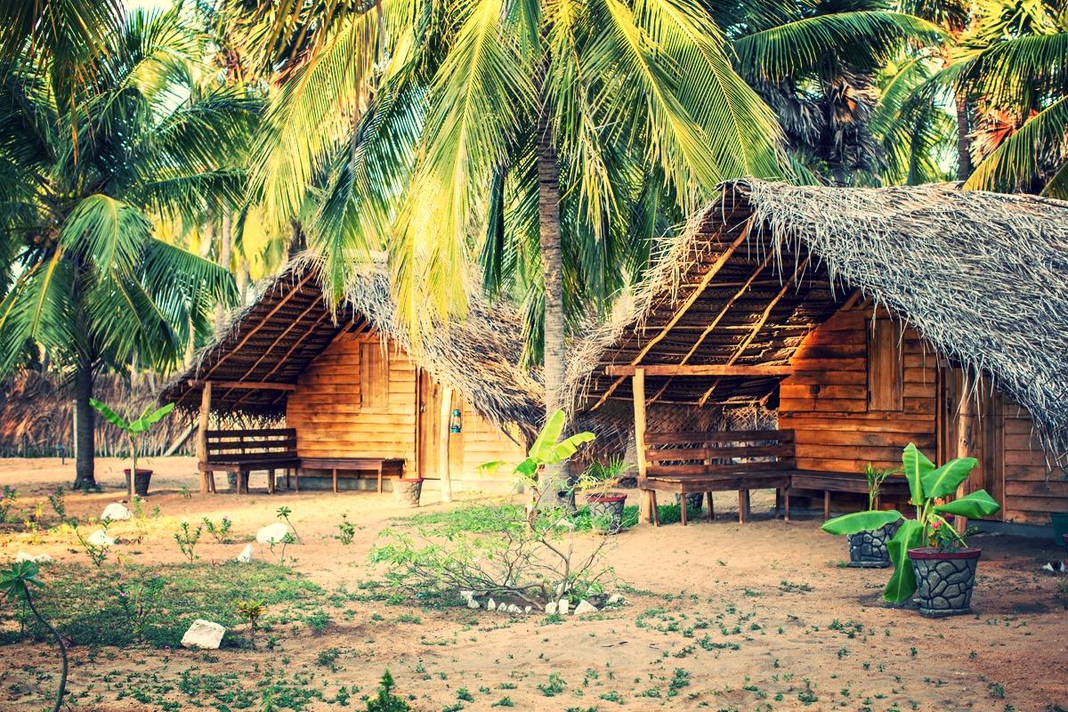 Standard wooden cabanas