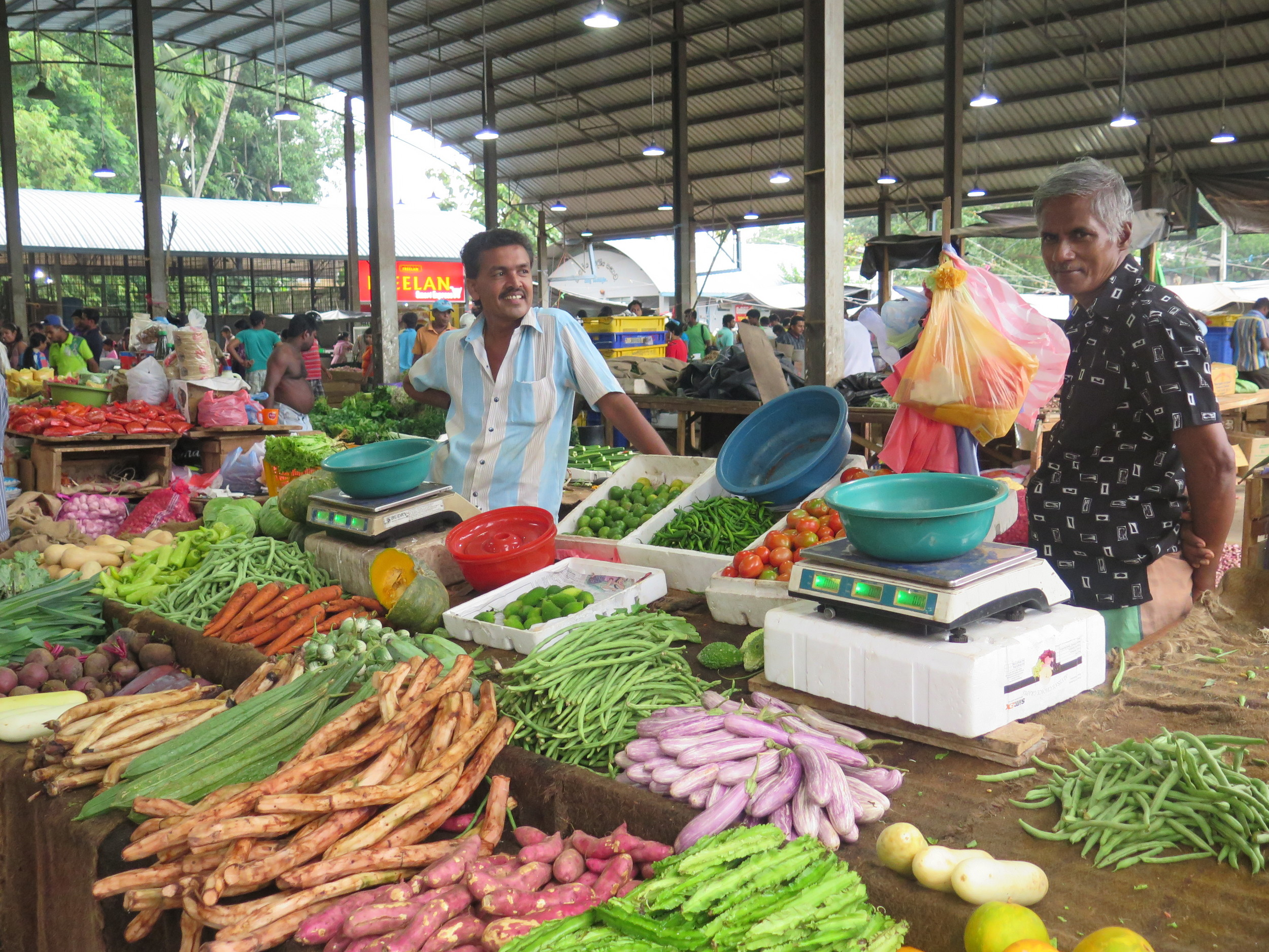 Sri Lanka's fresh vegetables