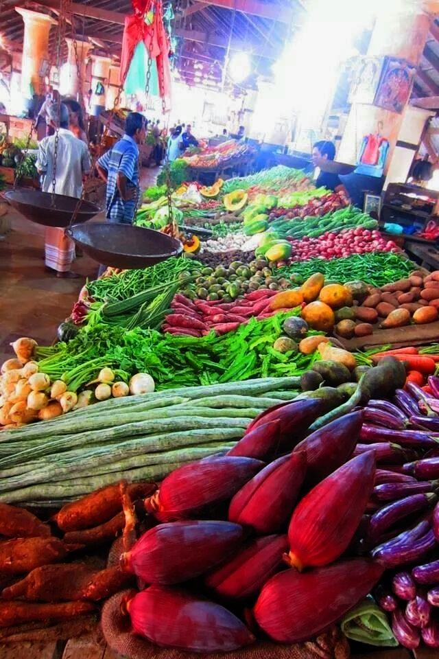Vegetable market Kalpitiya