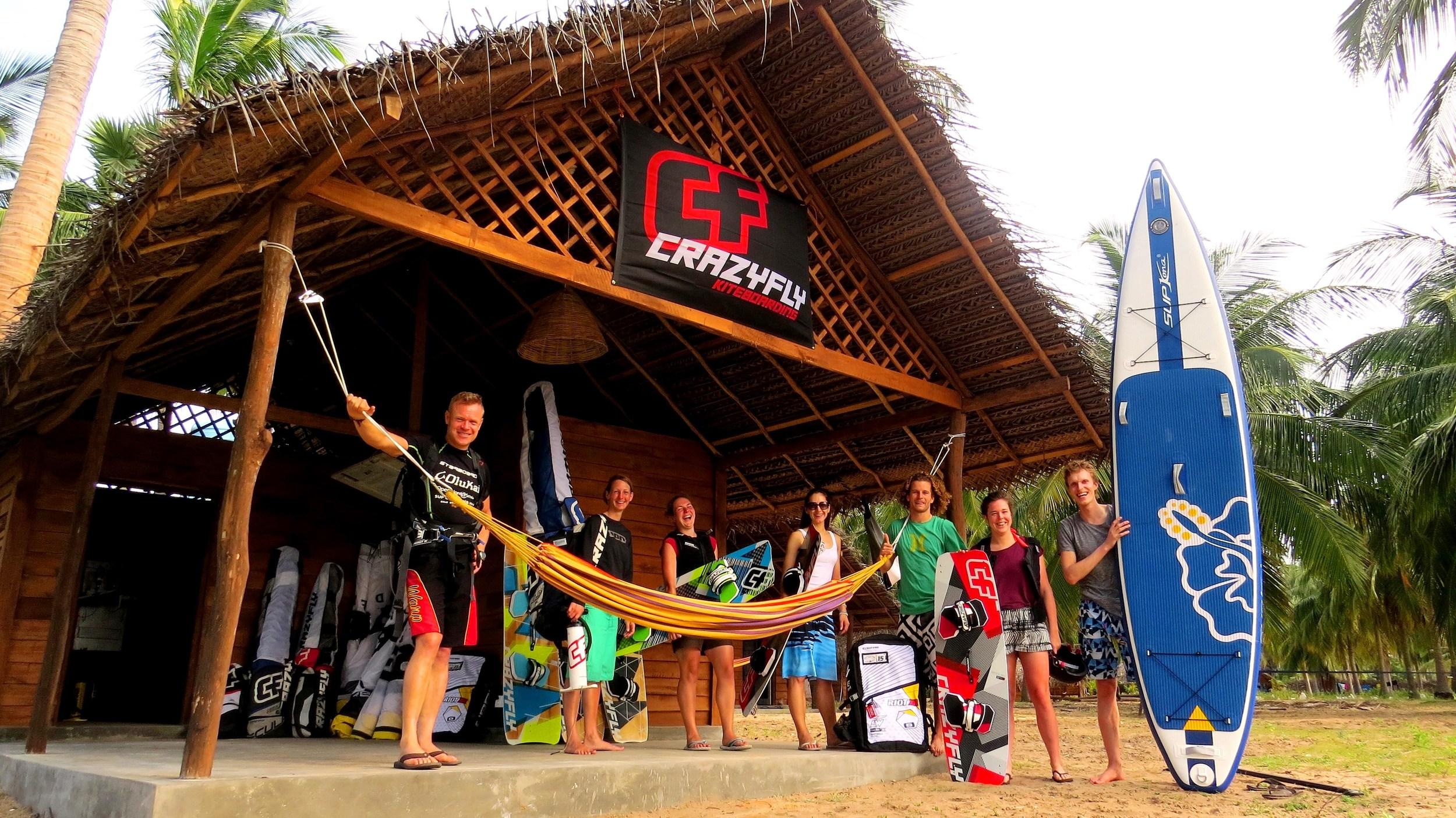 Brand new Kite centre in Kalpitiya