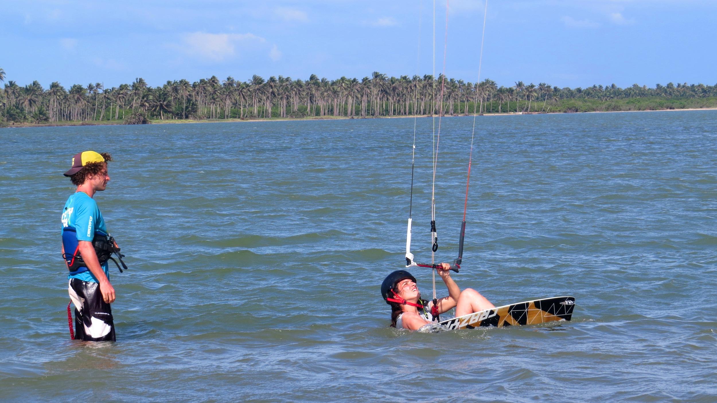 Flat water training