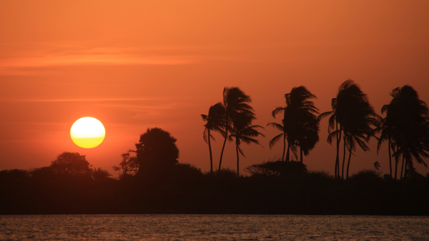 One of the best sunsets in Sri Lanka