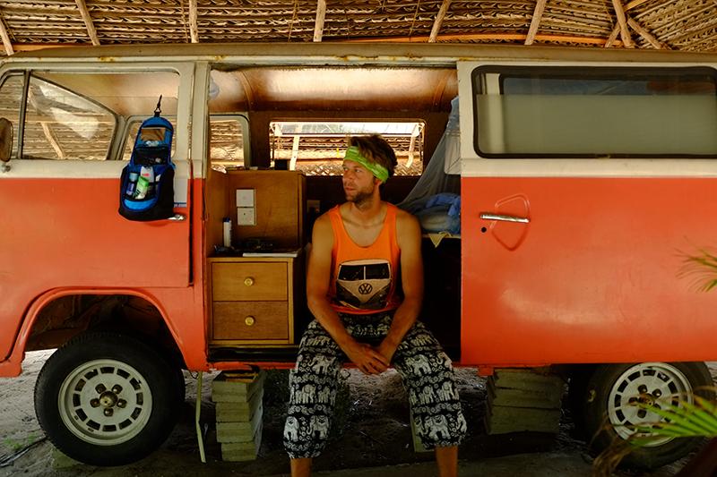Only VW caravan in Sri Lanka