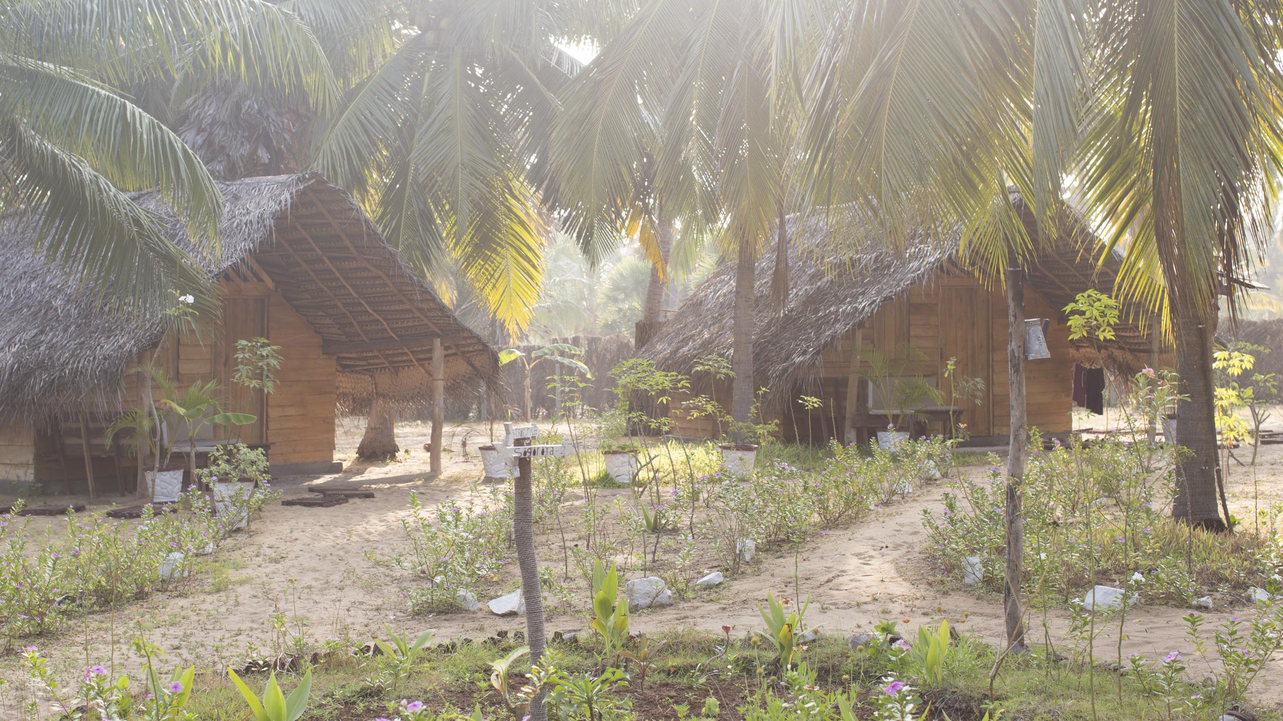 Eco friendly wooden cabanas in Kalpitiya