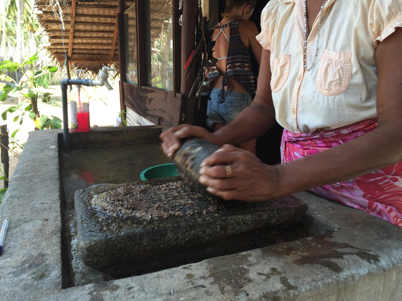 Preparing curry mixes