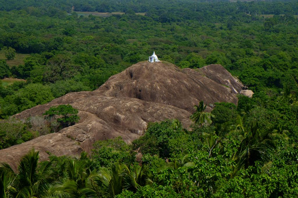 Visit the Buddhist temple close to kalpitiya