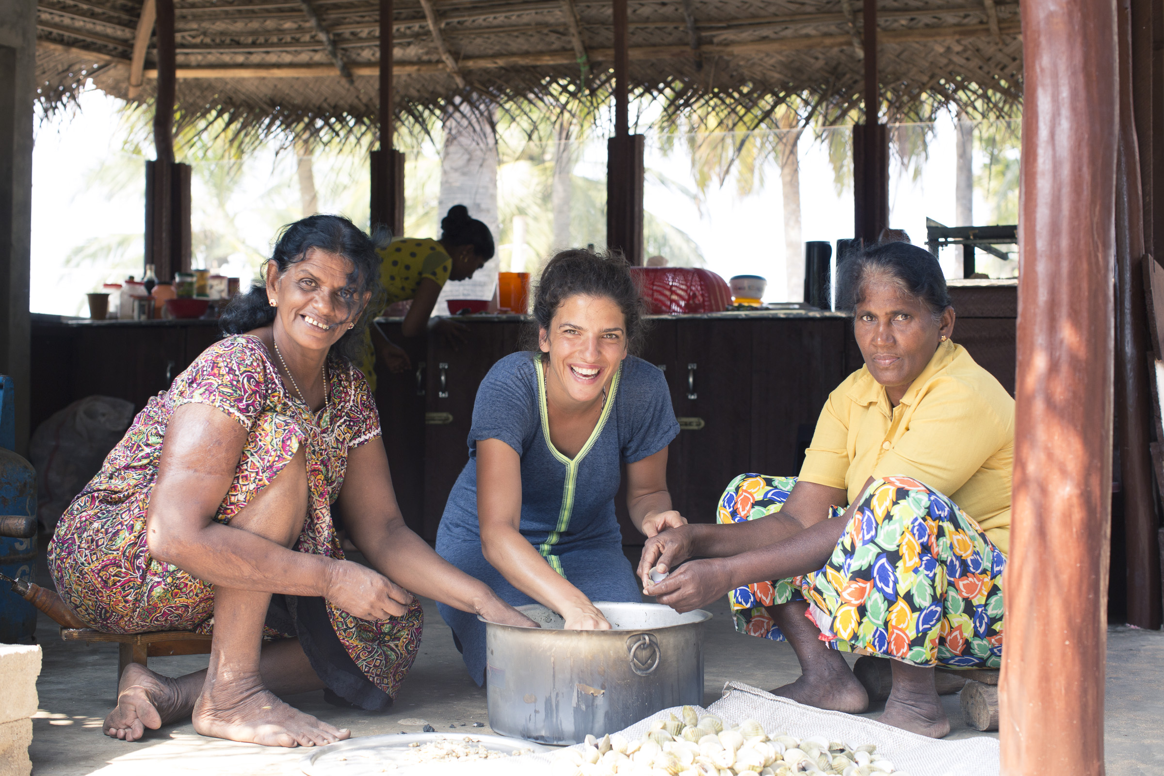 our team will show how we cook the mussels in Kalpitiya - Sri Lanka