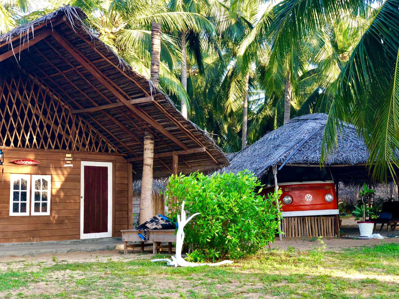 The only Old school Volkswagen surf camper in Sri Lanka
