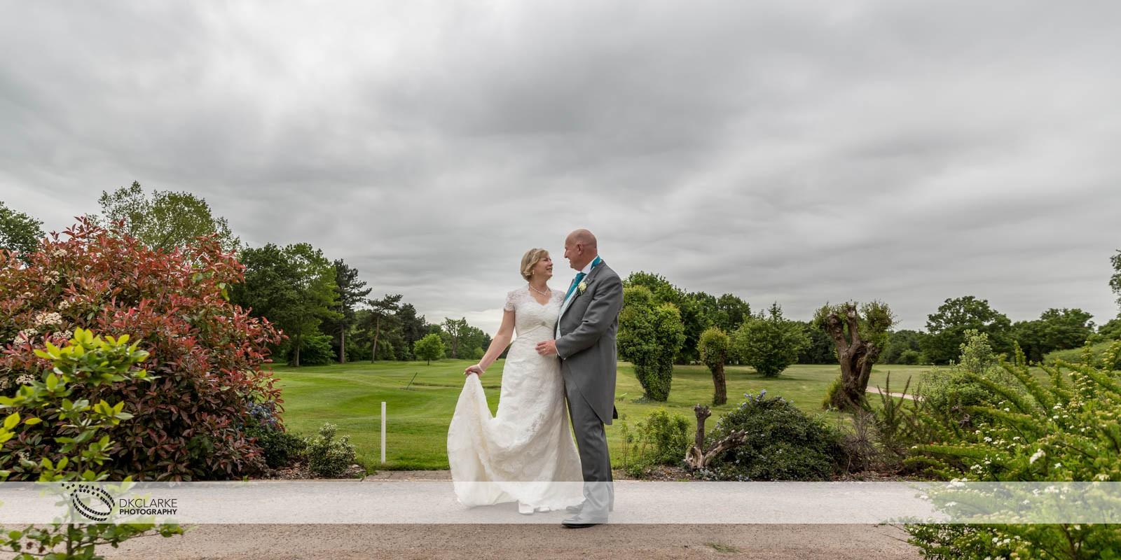 Bride & groom at Twickenham, Fulwell & Hampton wedding