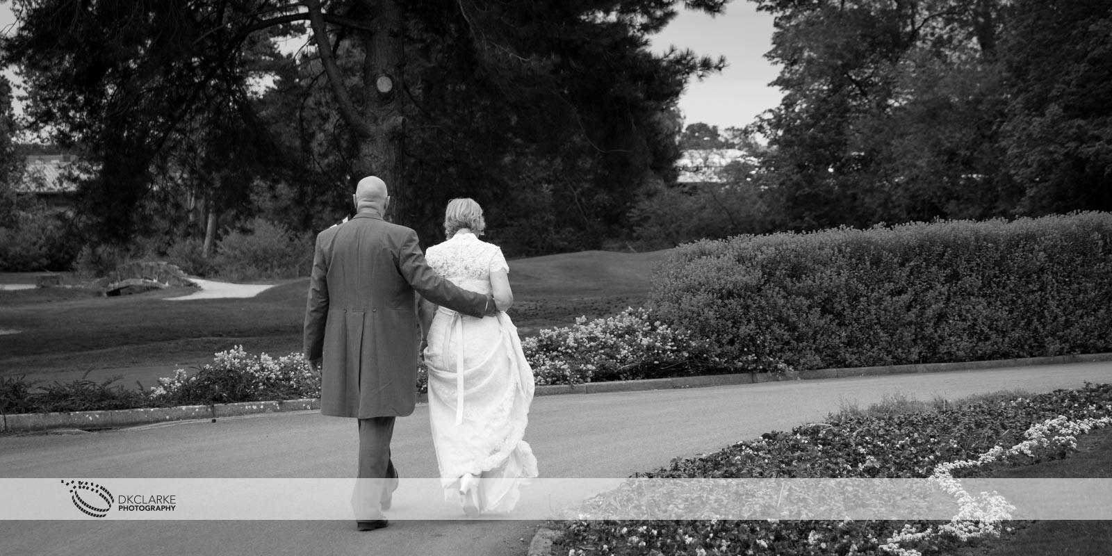 Bride & groom at Twickenham wedding