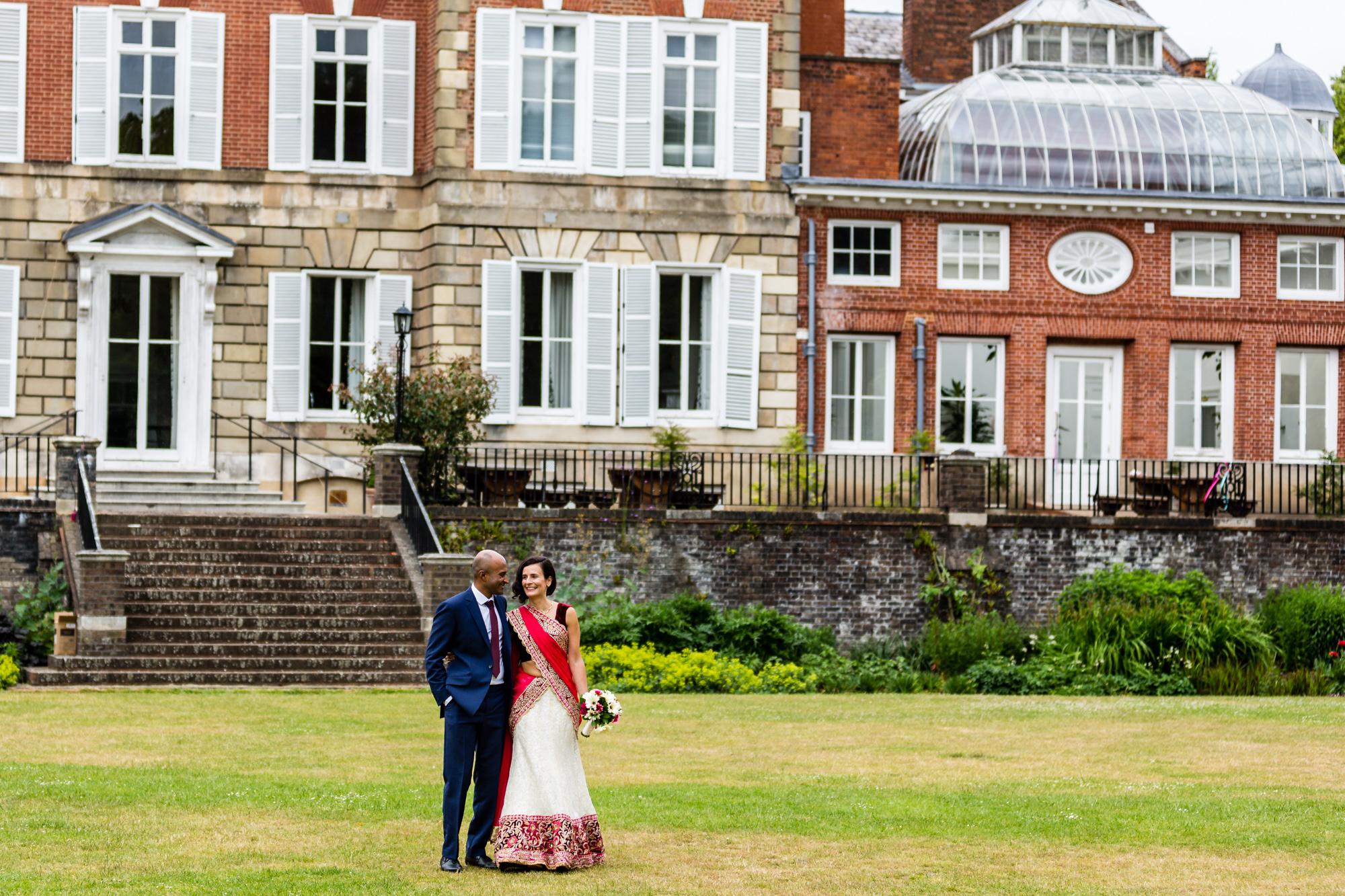 Wedding photography in Twickenham