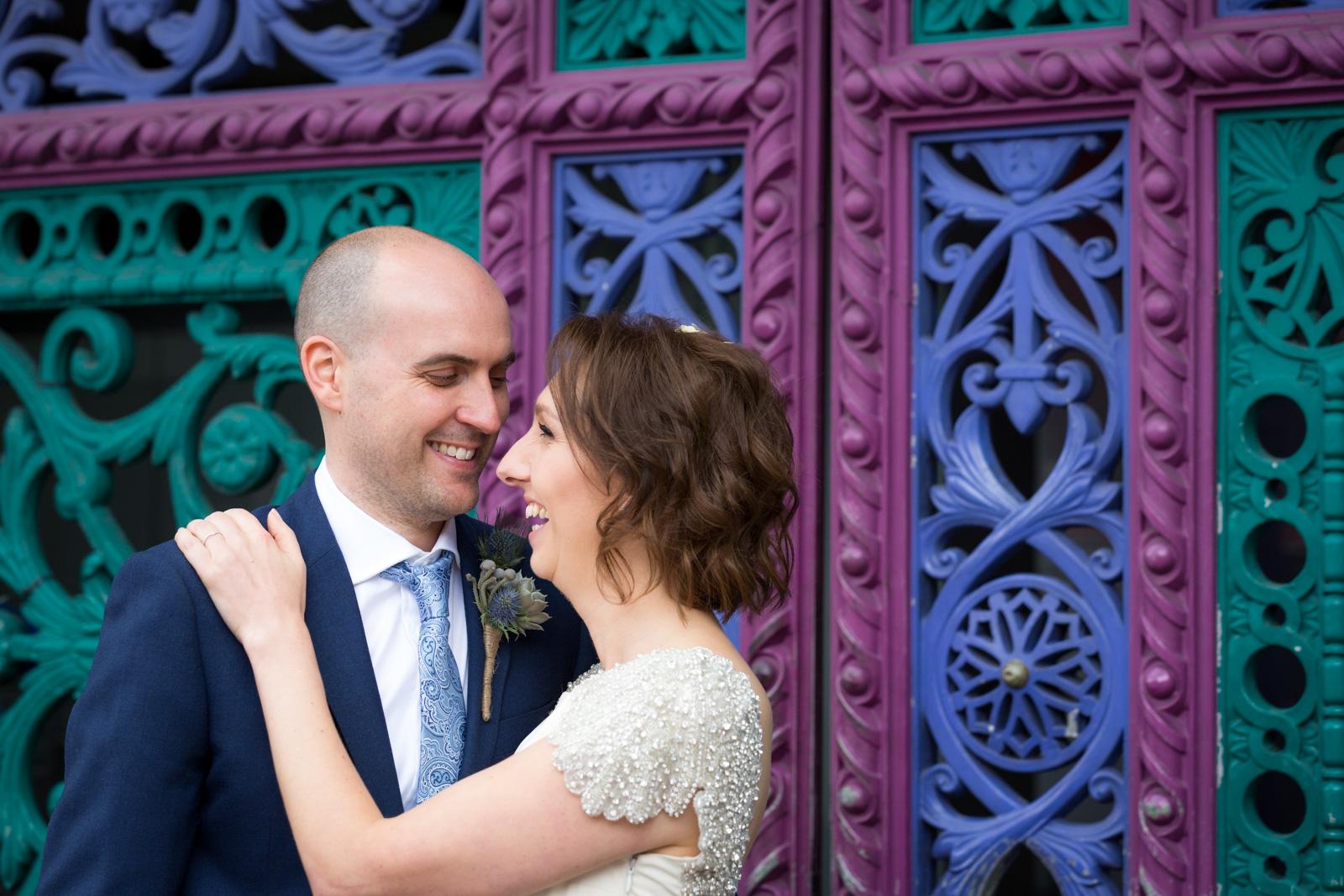 Smithfield market wedding photography