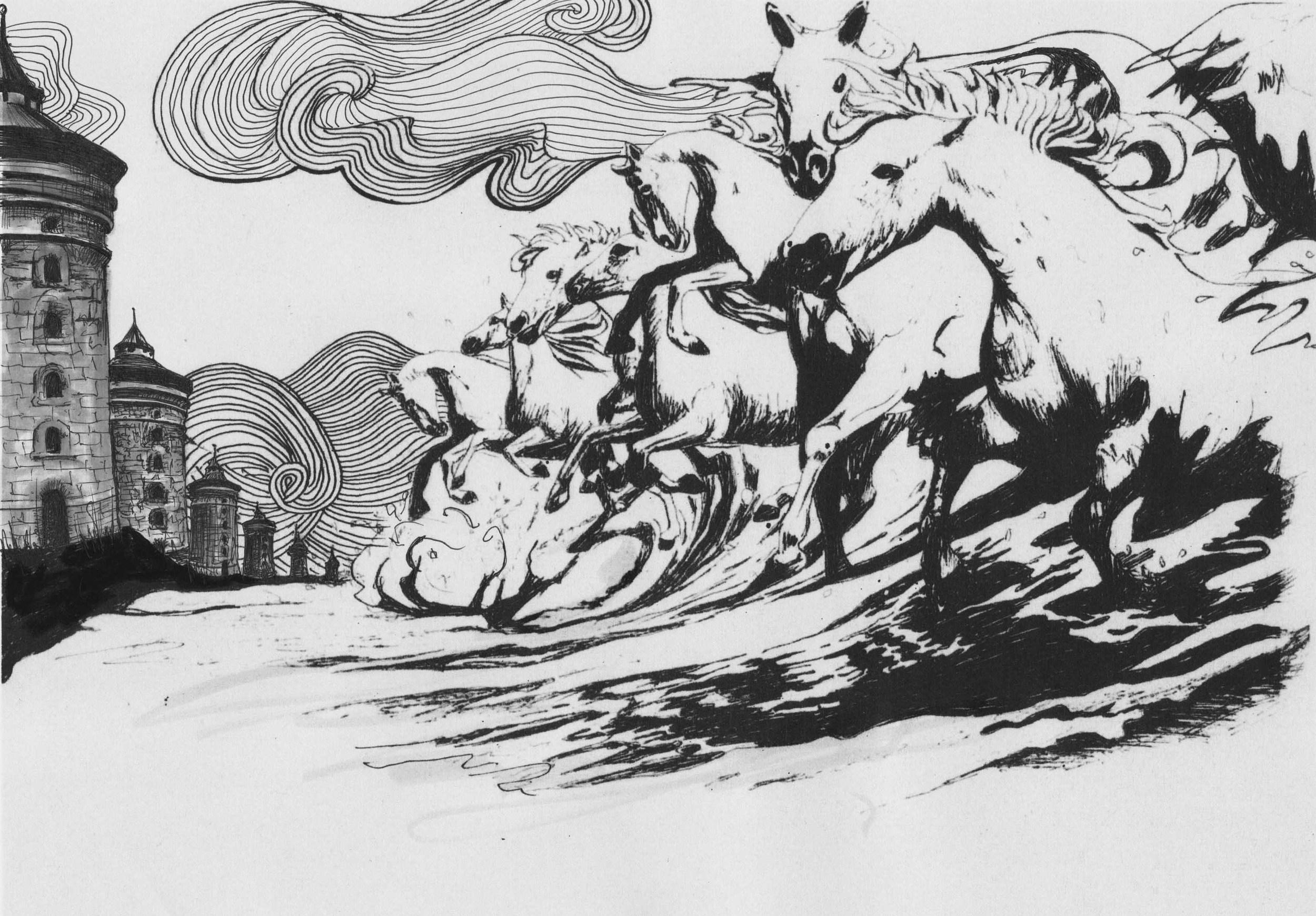 Seven White Horses