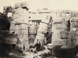 Francis Frith In Egypt, 1860 albumen print
