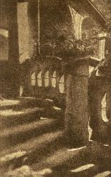 Frantisek Dritkol, Stairway, Prague, 1910 photogravure