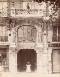 Anonymous, Parisian Doorway 1880