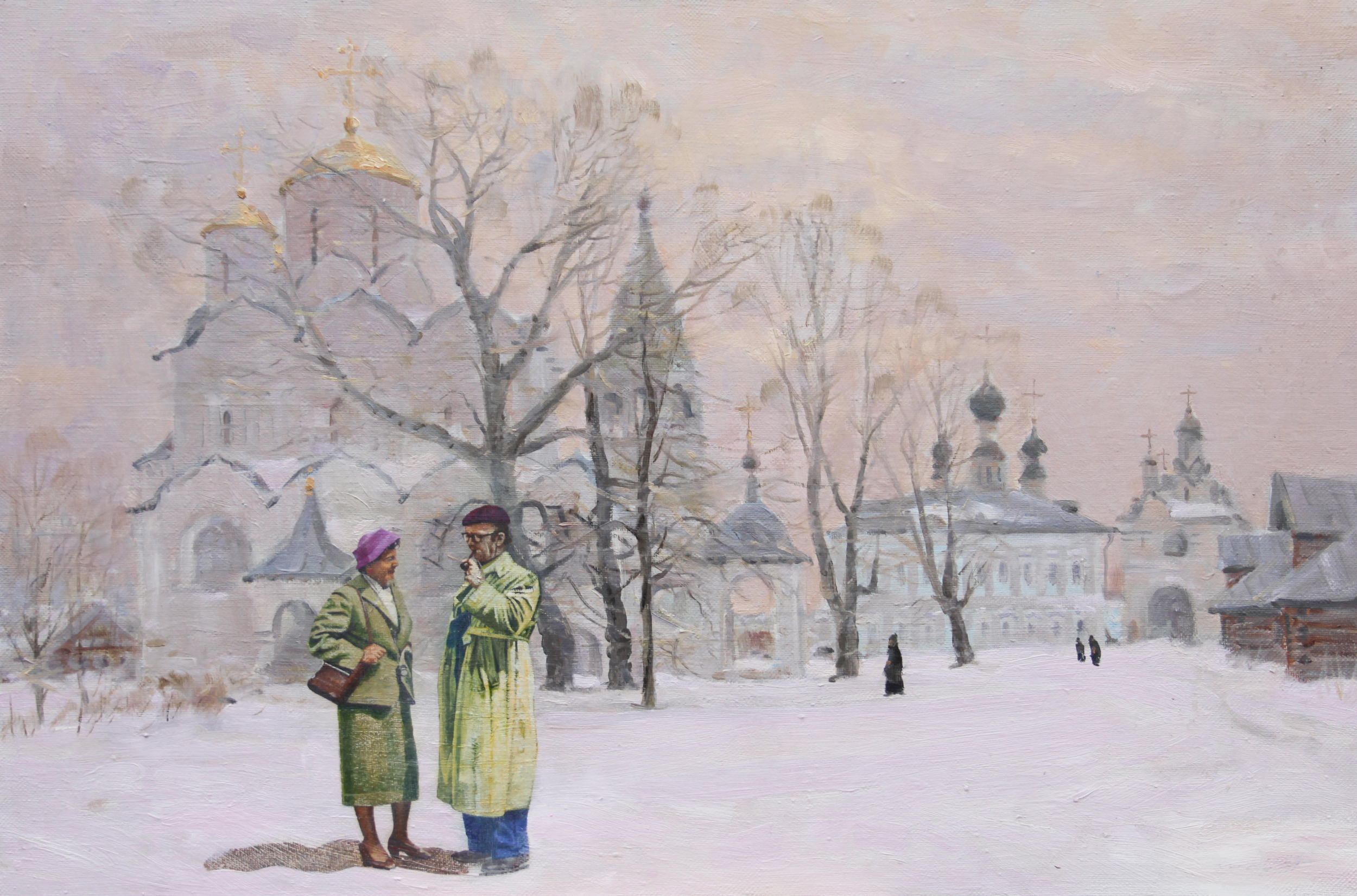 Unterwegs mit der Partneragentur 'Svetlana