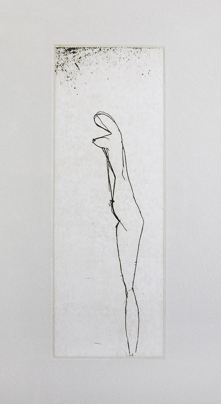Joseph Beuys   Tränen: Jungfrau . Radierung . 1985 nummeriert und handsigniert (75)  3.200 Euro