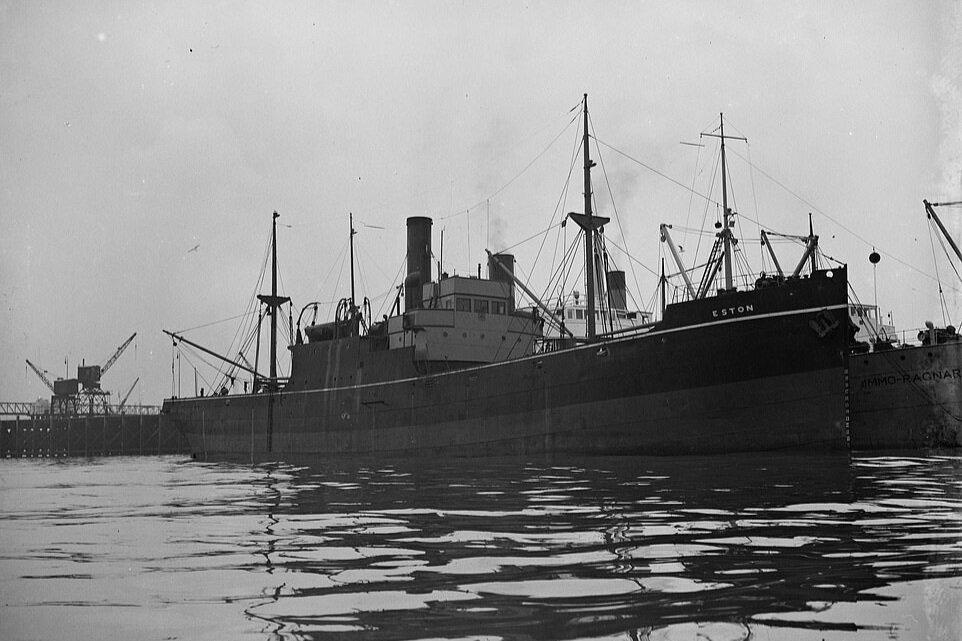 SS Eston at Woolwich, London