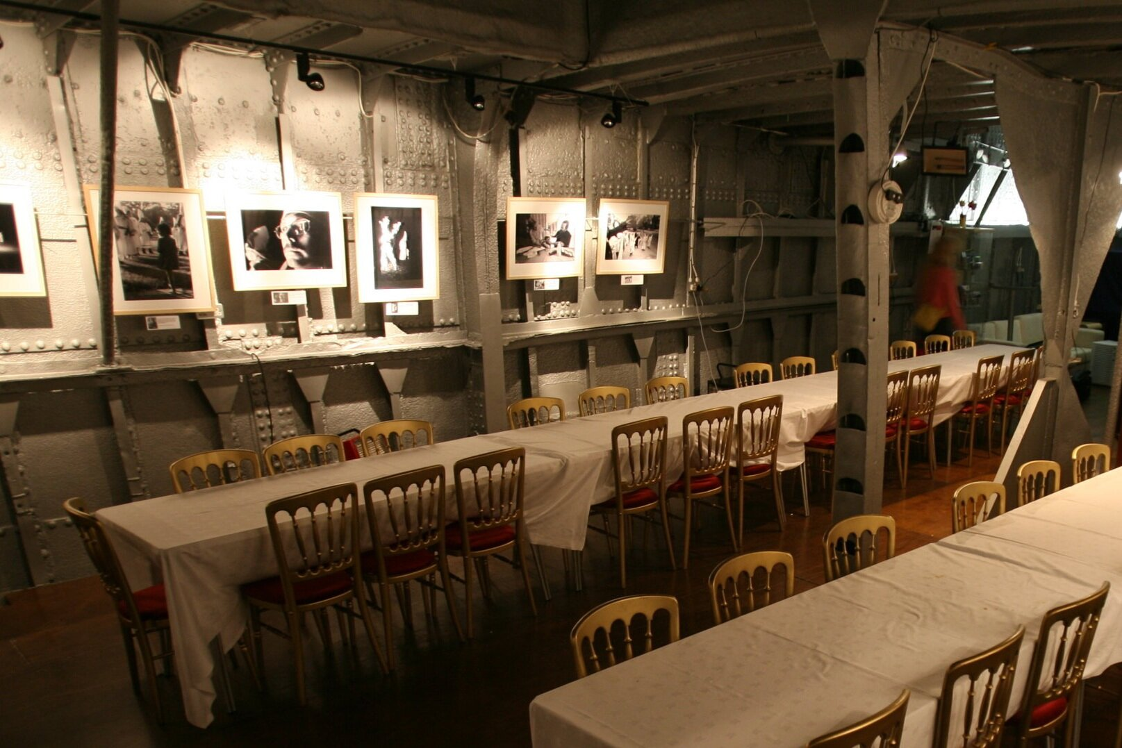 Hold used as photography gallery and venue hire space