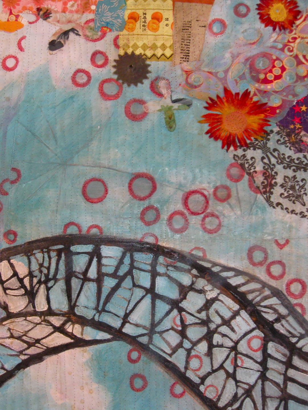 "Detail, ""Bridge with Balloons."""