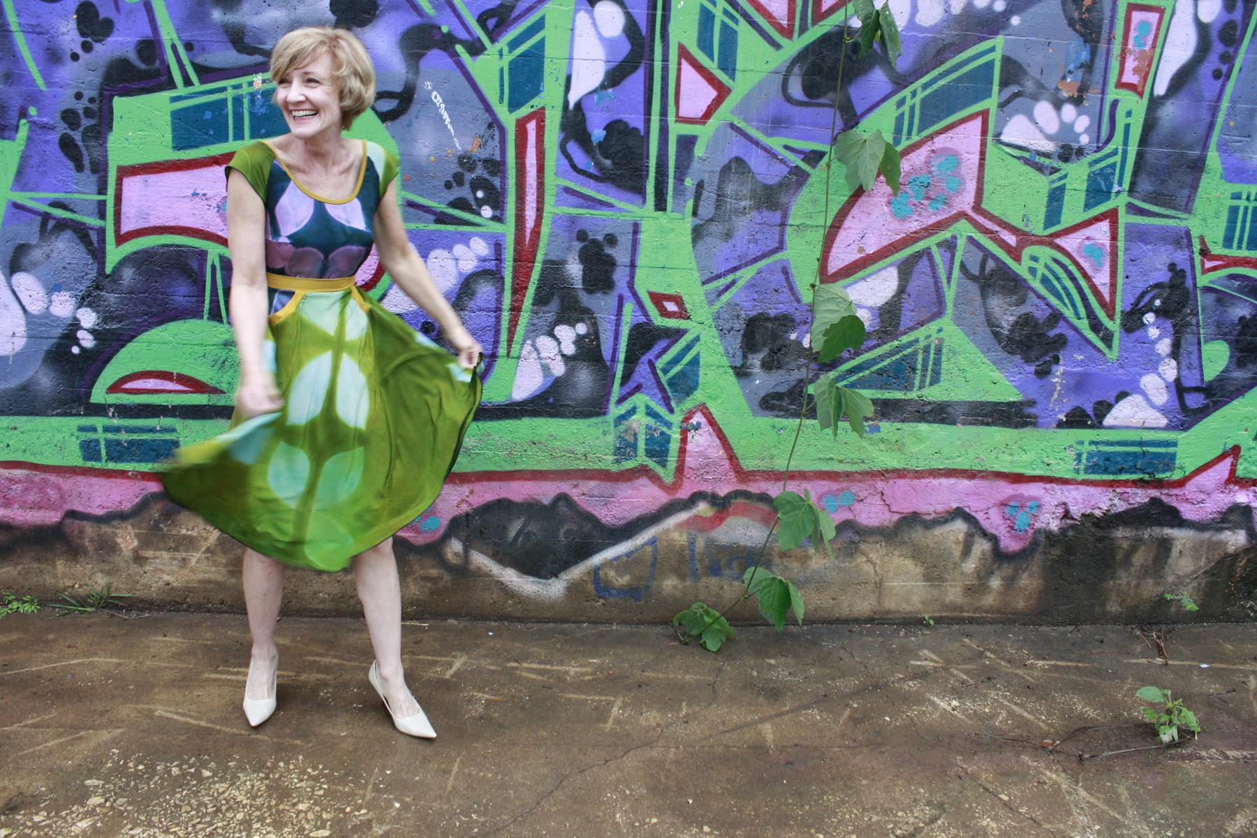 Dress for a Garden Party, Asheville, NC.