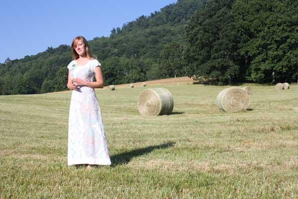 "One of a kind ""Belle"" Dress, North Carolina."