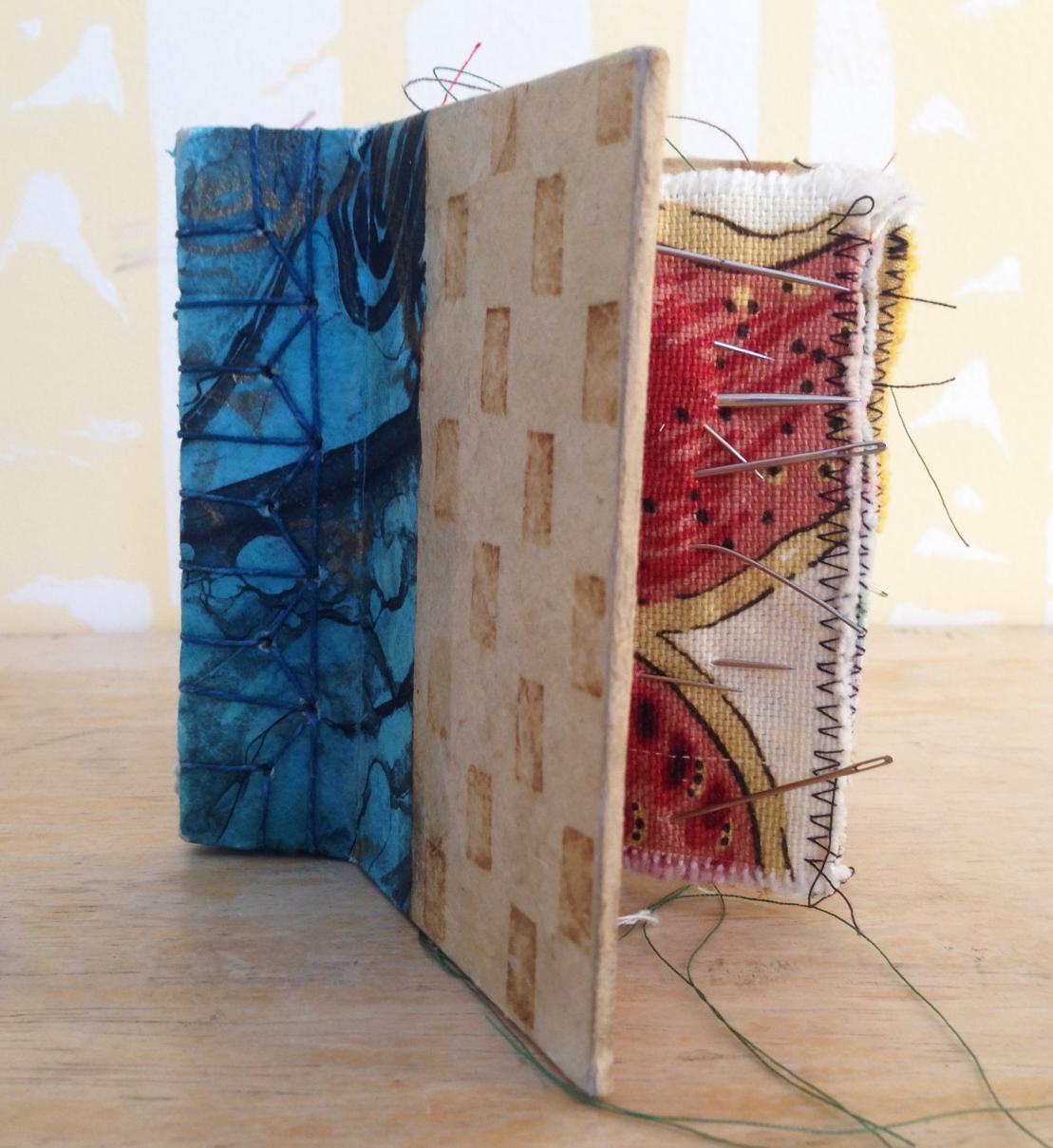 Handmade needle book.