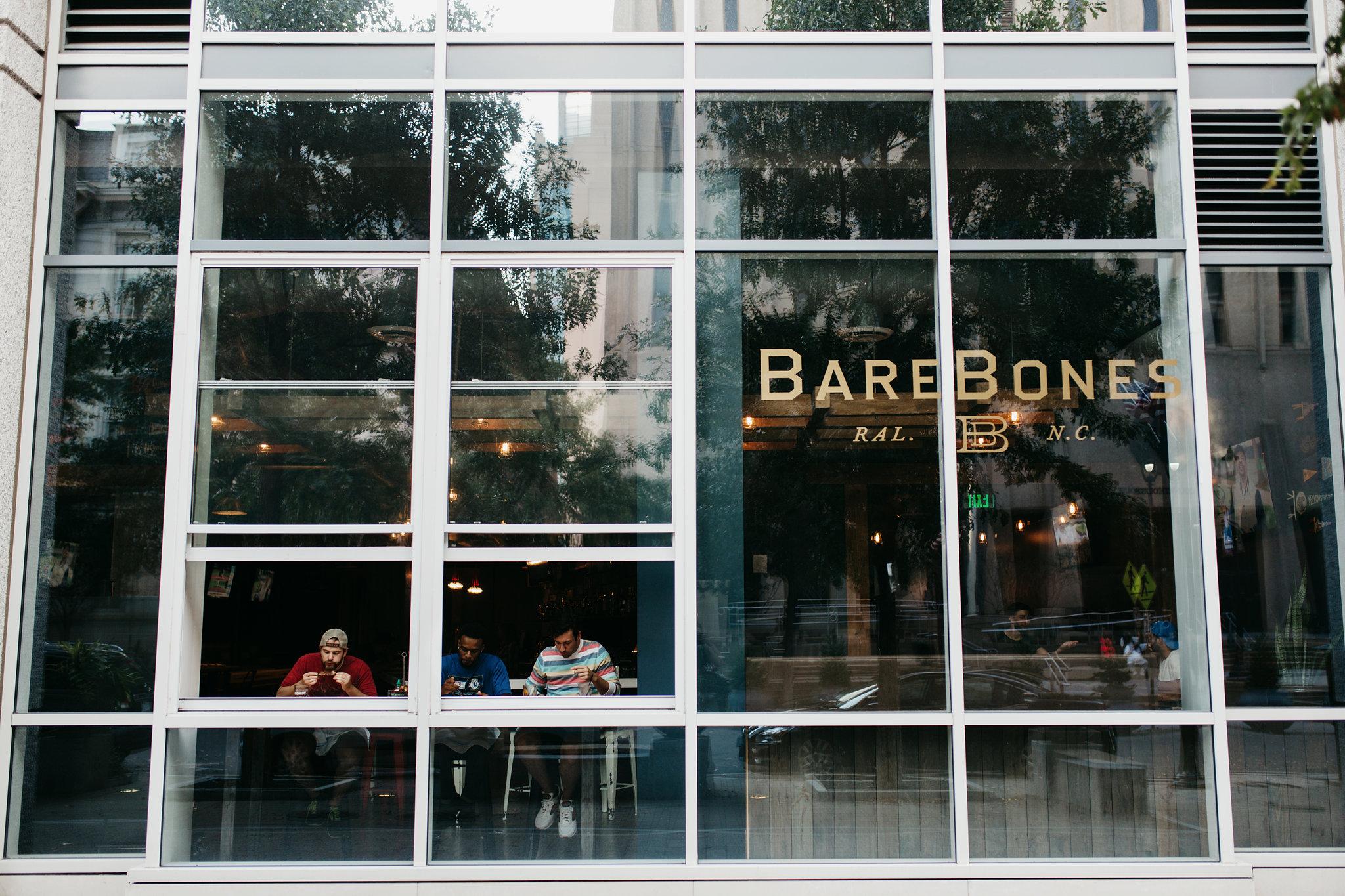 Design by Good South / Bare Bones Identity - Window Application