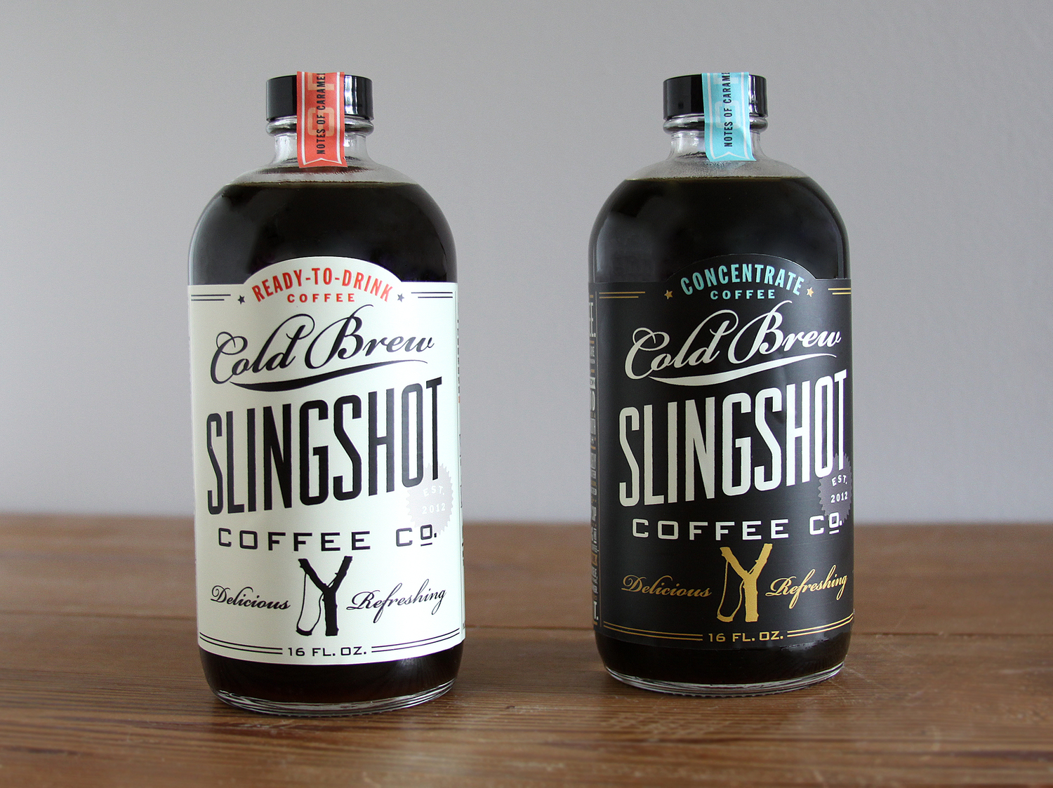 Design by Good South / Slingshot Coffee Co. - Cold Brew Package Design